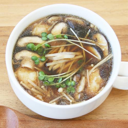 身体が温まる生姜スープ